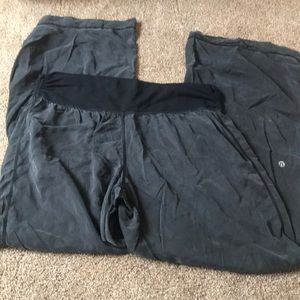 Lululemon wide leg pants, size 12